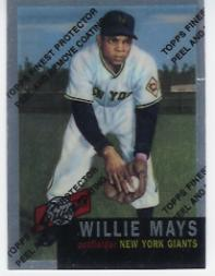 1997 Topps Mays Finest #3 Willie Mays