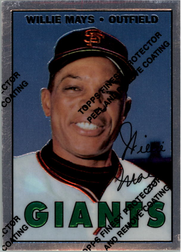 1997 Topps Mays Finest #21 Willie Mays