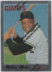 1997 Topps Mays Finest #24 Willie Mays