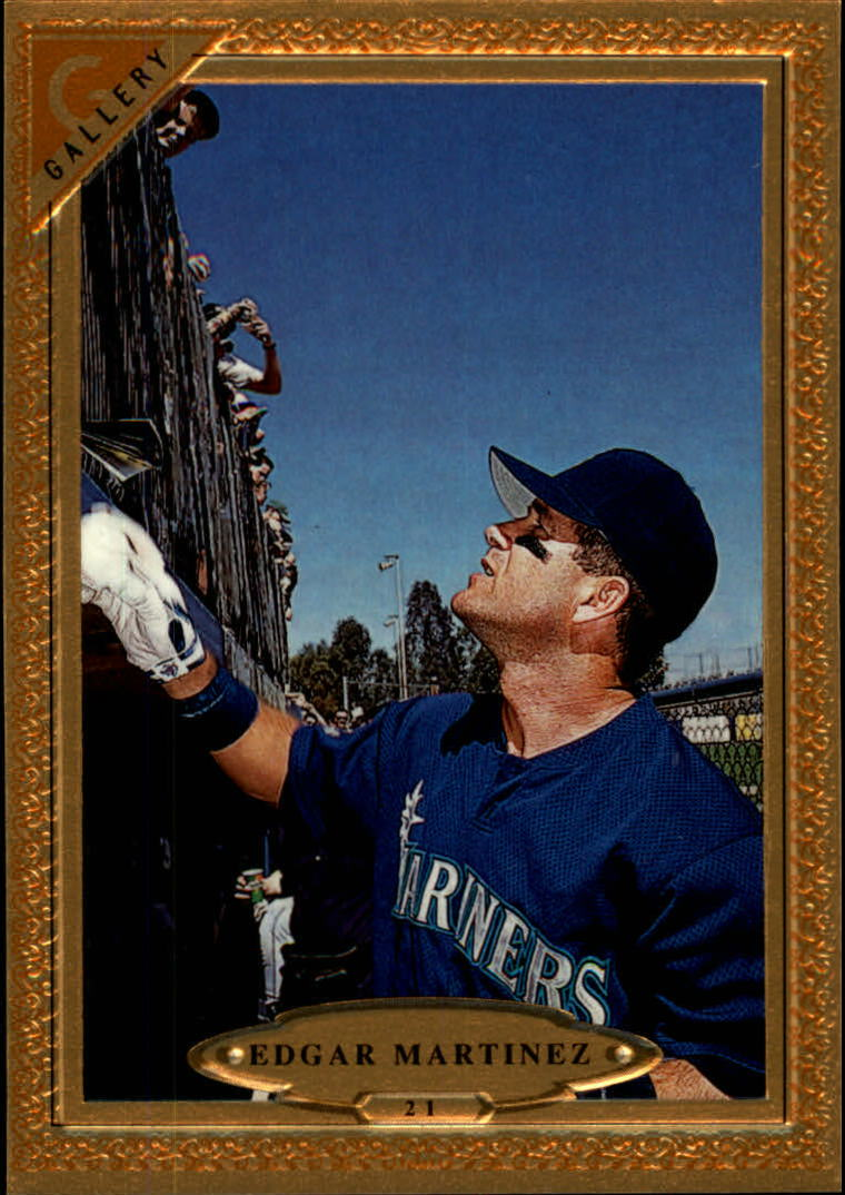 1997 Topps Gallery #21 Edgar Martinez