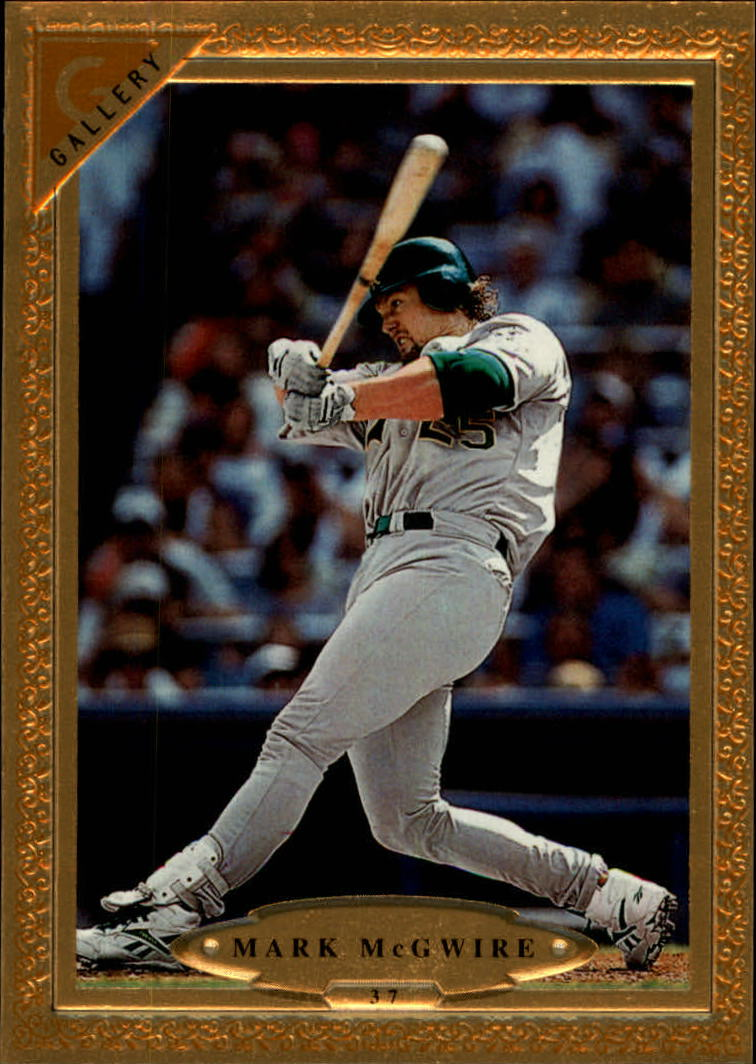 1997 Topps Gallery #37 Mark McGwire