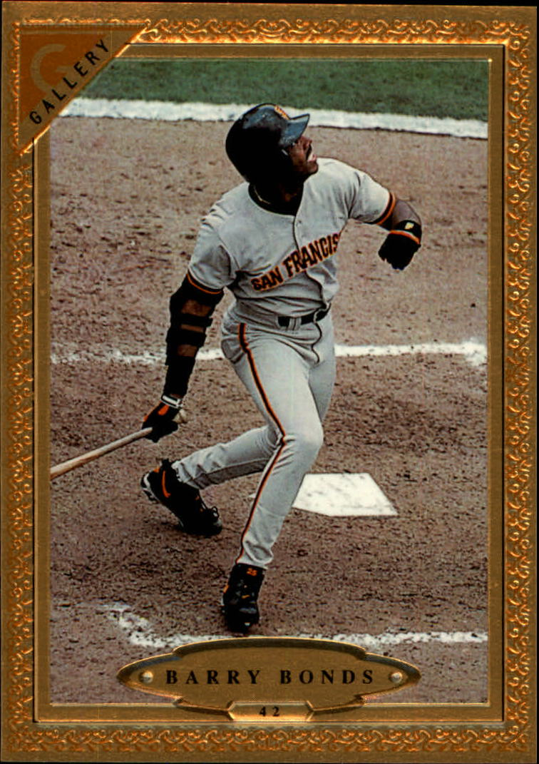 1997 Topps Gallery #42 Barry Bonds