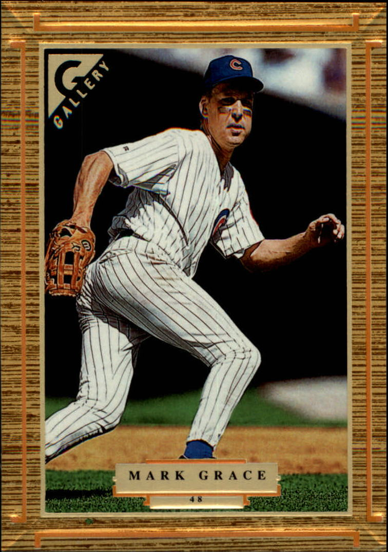1997 Topps Gallery #48 Mark Grace
