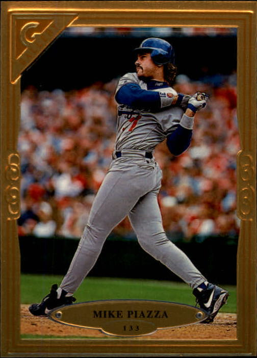 1997 Topps Gallery #133 Mike Piazza