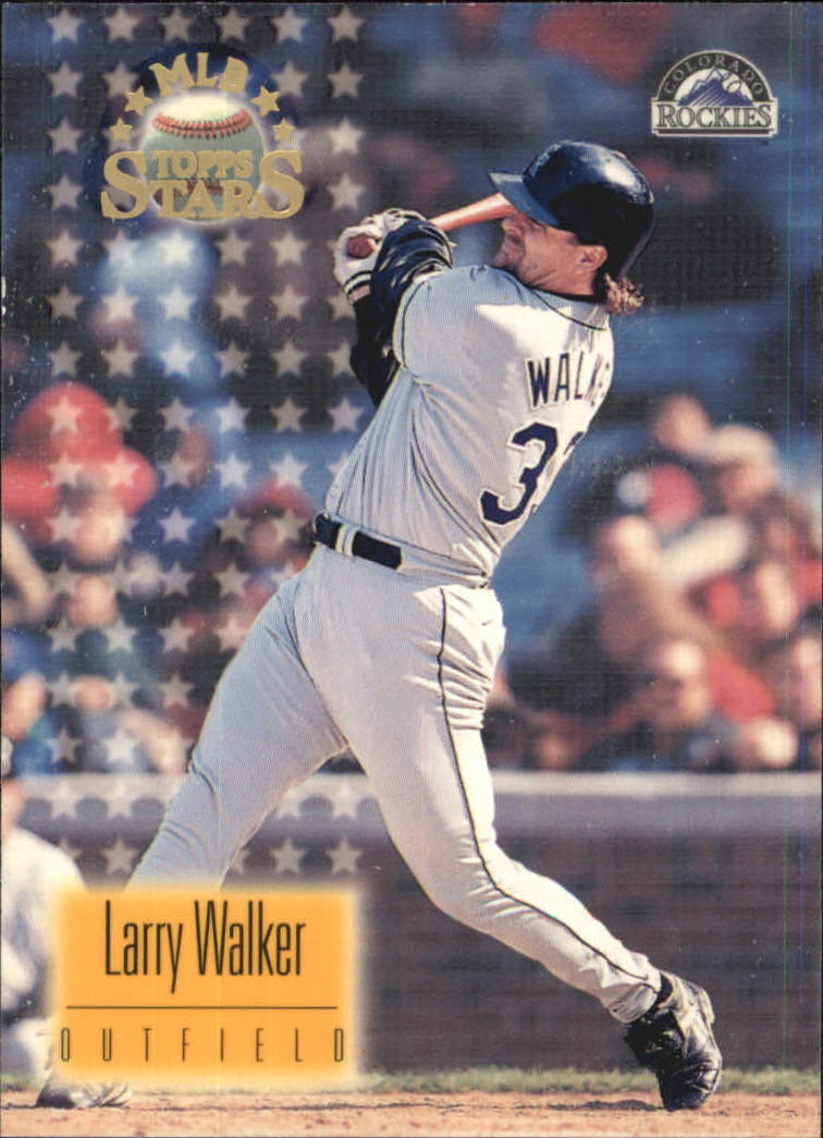 1997 Topps Stars #1 Larry Walker