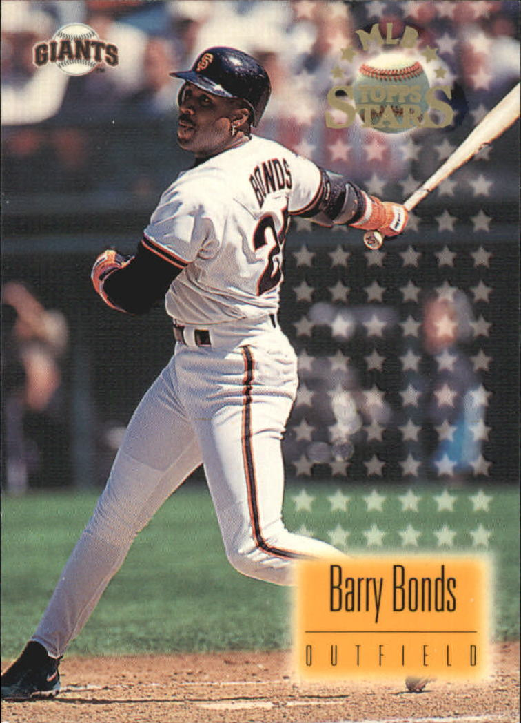 1997 Topps Stars #42 Barry Bonds front image