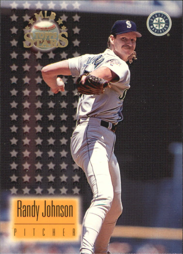 1997 Topps Stars #43 Randy Johnson front image