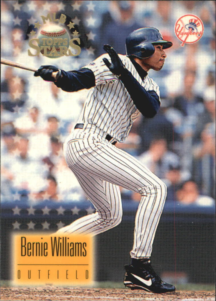 1997 Topps Stars #90 Bernie Williams