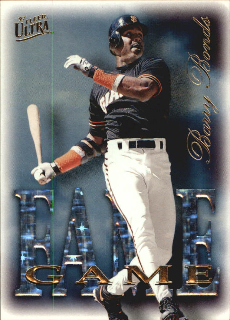 1997 Ultra Fame Game #17 Barry Bonds