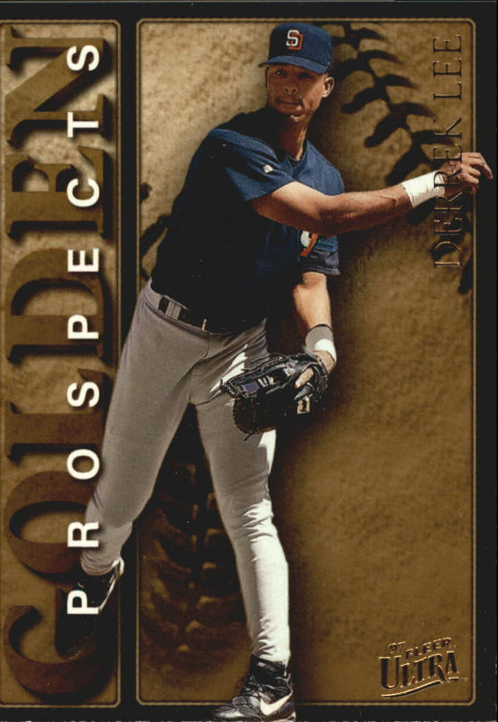 1997 Ultra Golden Prospects #10 Derrek Lee