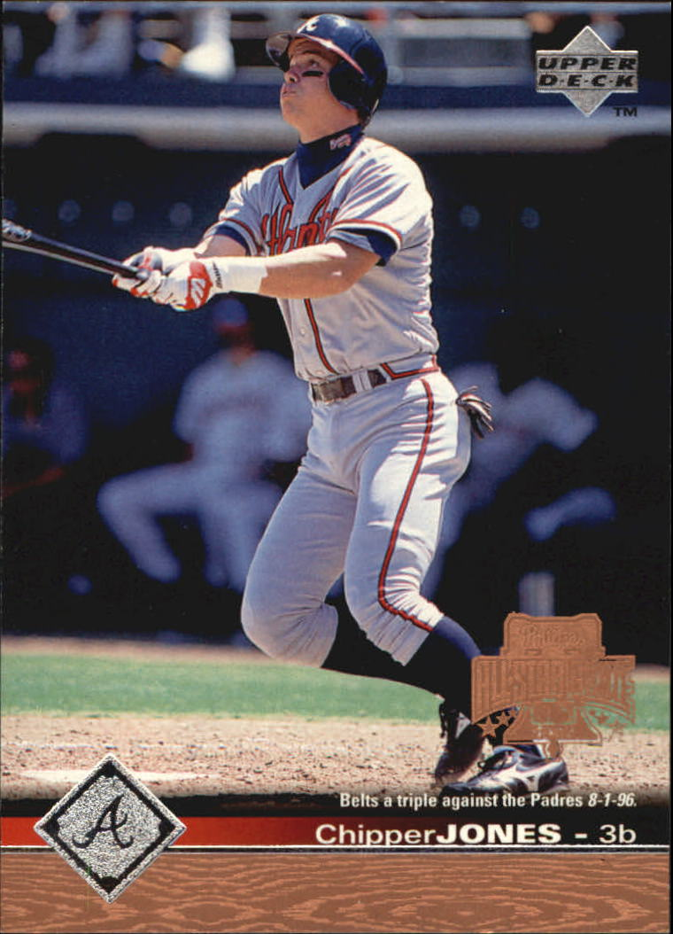 1997 Upper Deck #10 Chipper Jones