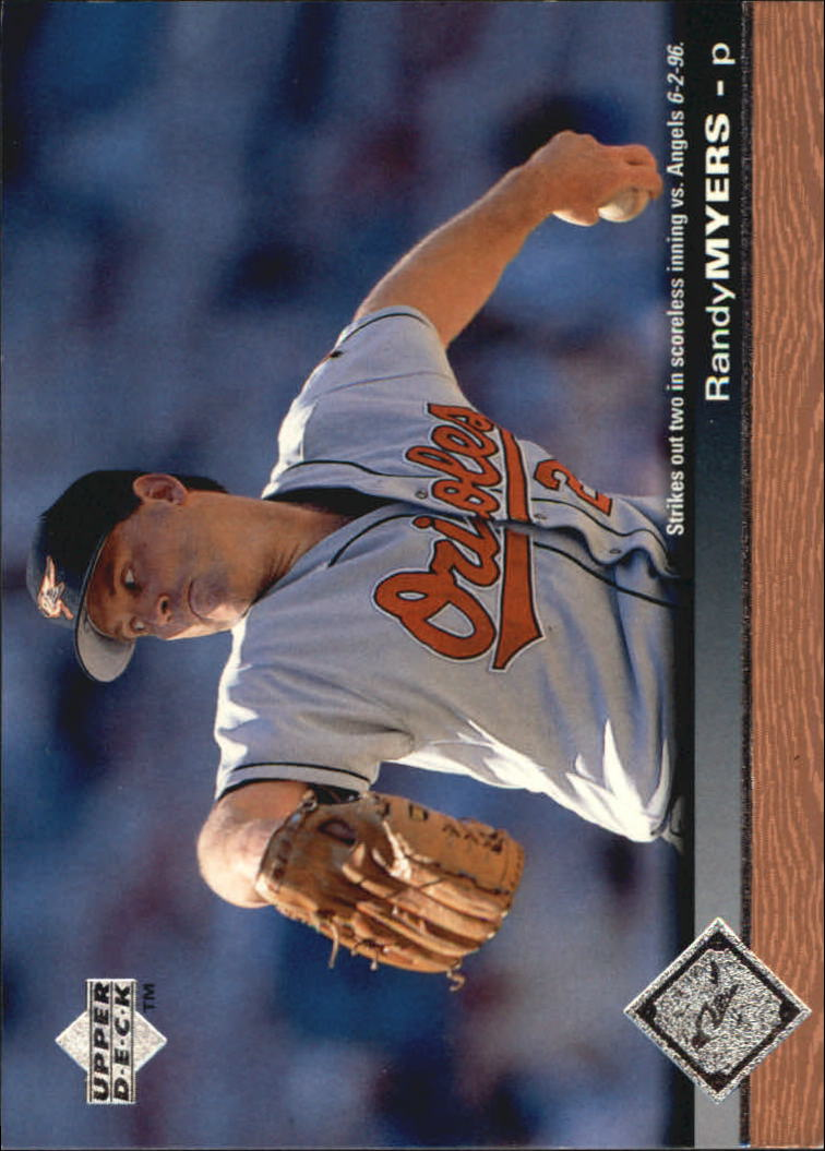 1997 Upper Deck #18 Randy Myers