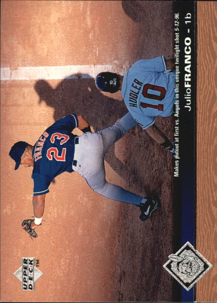 1997 Upper Deck #51 Julio Franco