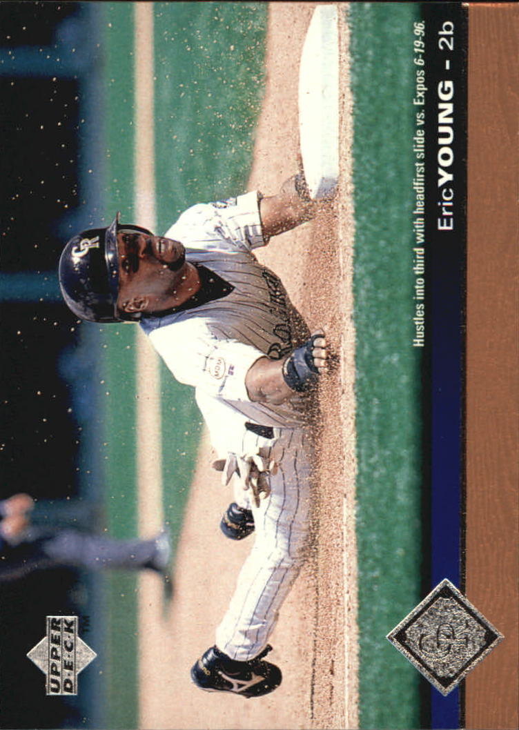1997 Upper Deck #55 Eric Young
