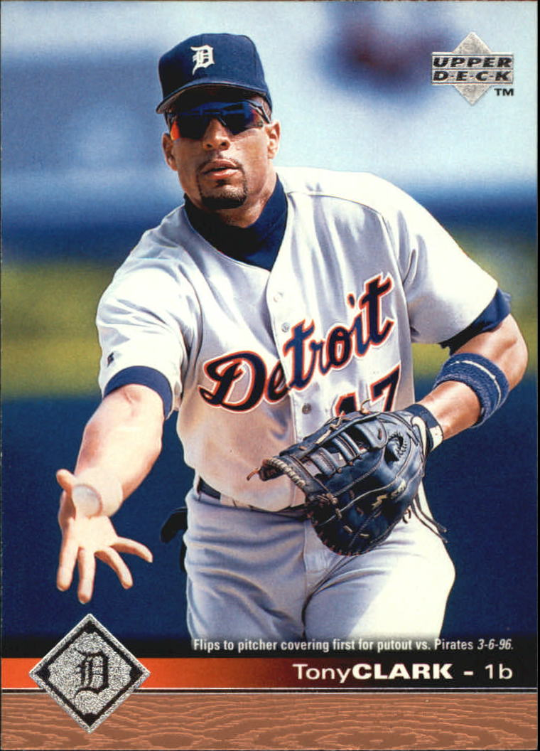 1997 Upper Deck #62 Tony Clark