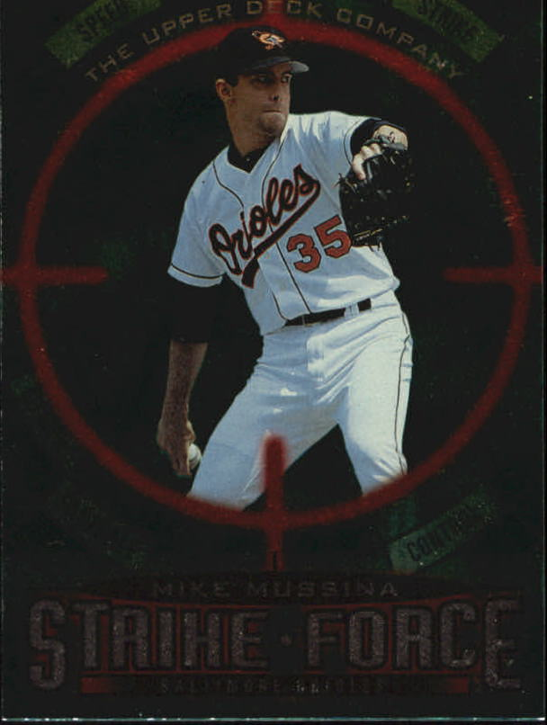 1997 Upper Deck #67 Mike Mussina SF