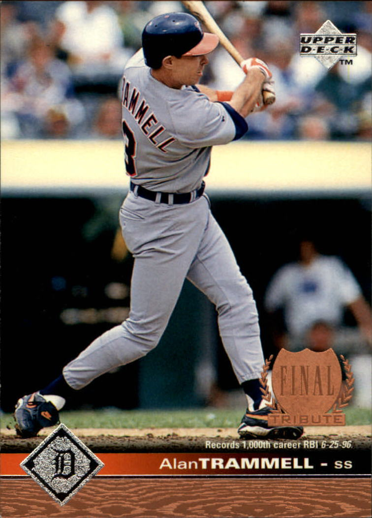 1997 Upper Deck #75 Alan Trammell