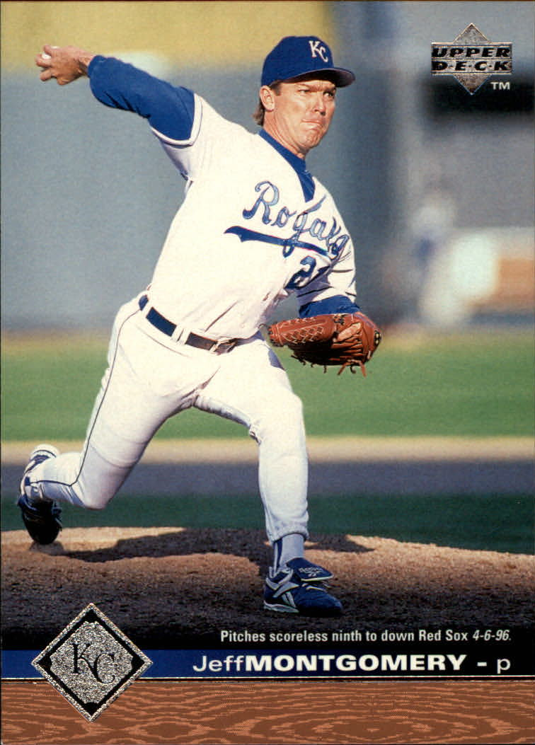 1997 Upper Deck #85 Jeff Montgomery