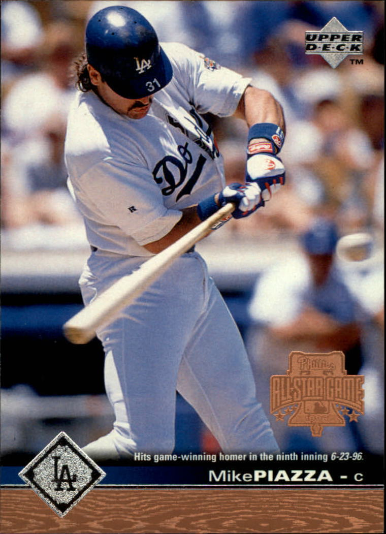 1997 Upper Deck #95 Mike Piazza