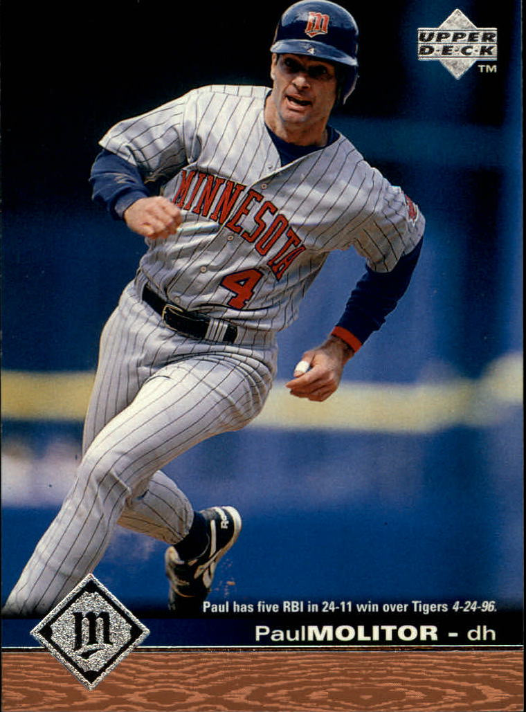 1997 Upper Deck #102 Paul Molitor