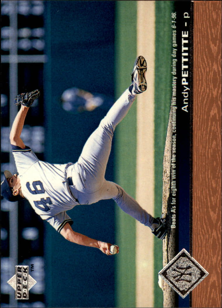 1997 Upper Deck #122 Andy Pettitte