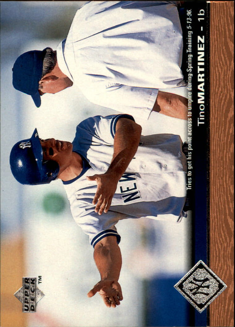 1997 Upper Deck #123 Tino Martinez