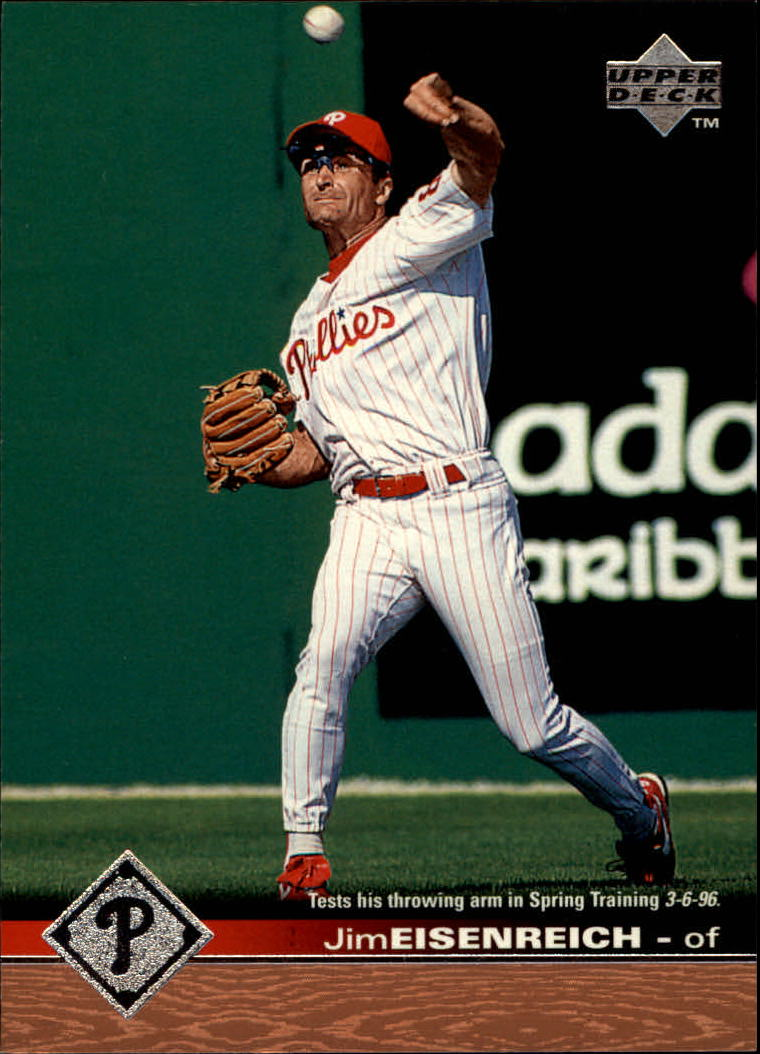 1997 Upper Deck #133 Jim Eisenreich