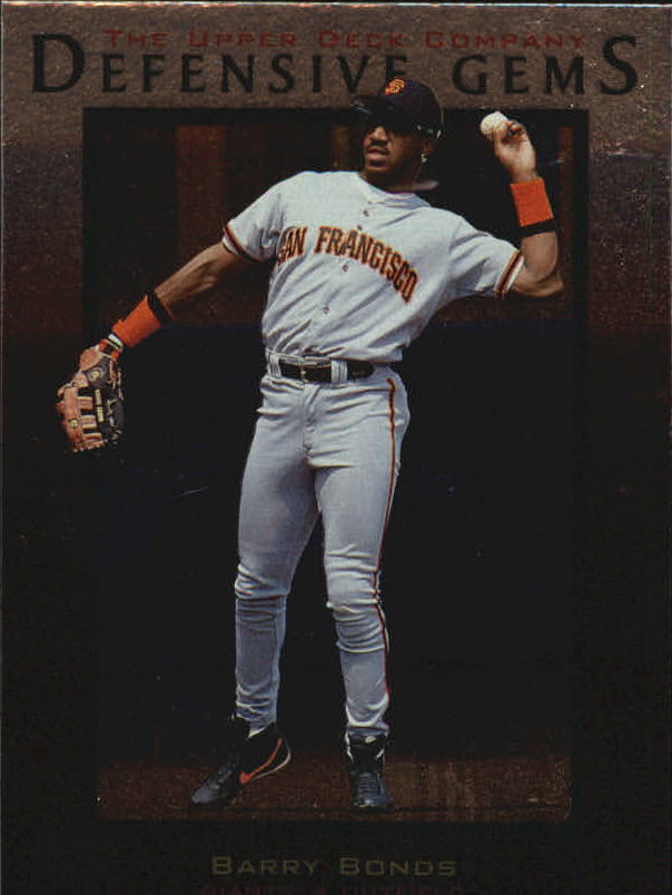 1997 Upper Deck #152 Barry Bonds DG front image