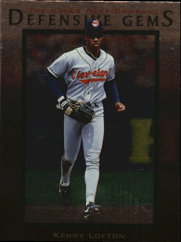 1997 Upper Deck #153 Kenny Lofton DG