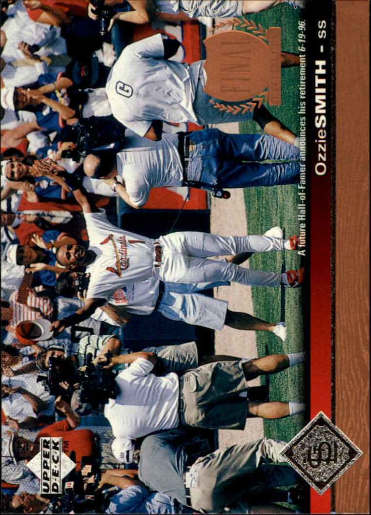 1997 Upper Deck #161 Ozzie Smith