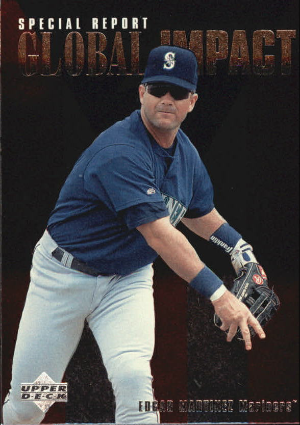 1997 Upper Deck #202 Edgar Martinez GI