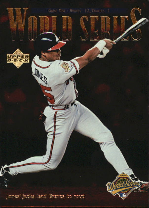 1997 Upper Deck #262 Andruw Jones UPD