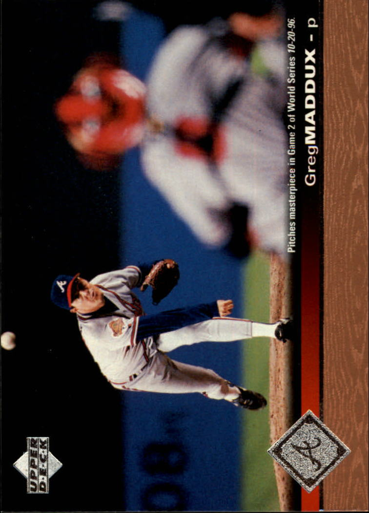 1997 Upper Deck #302 Greg Maddux