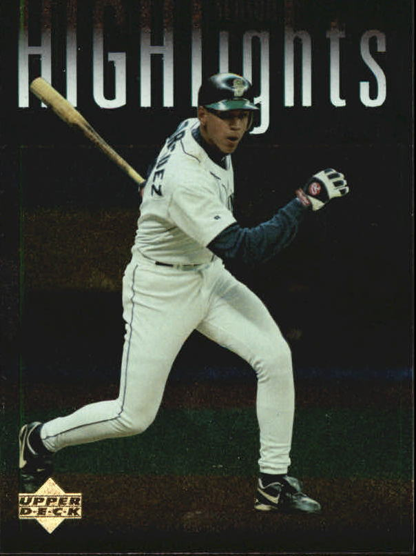 1997 Upper Deck #319 Alex Rodriguez SH CL
