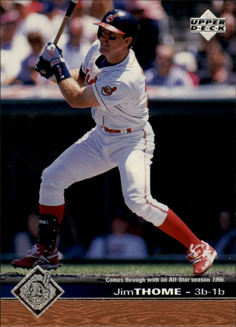 1997 Upper Deck #347 Jim Thome