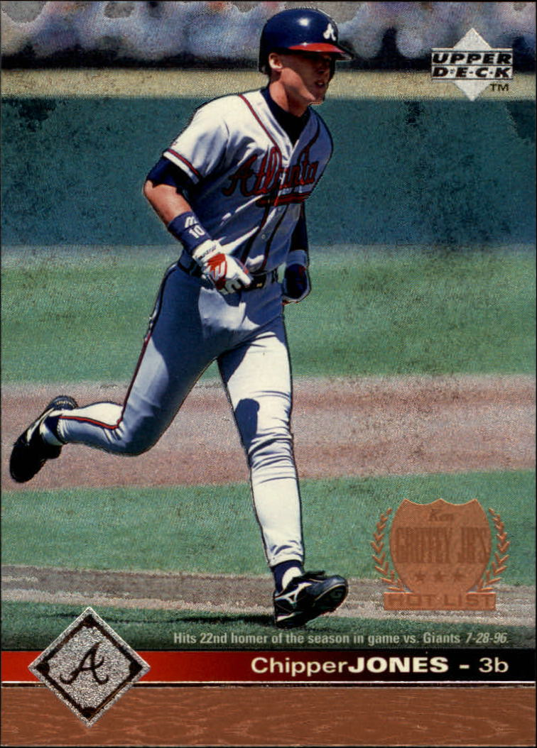 1997 Upper Deck #416 Chipper Jones GHL SP