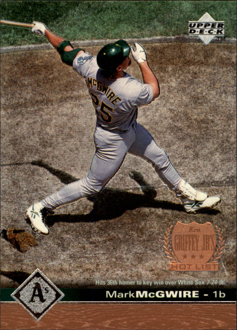 1997 Upper Deck #420 Mark McGwire GHL SP