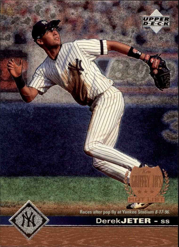 1997 Upper Deck #421 Derek Jeter GHL SP