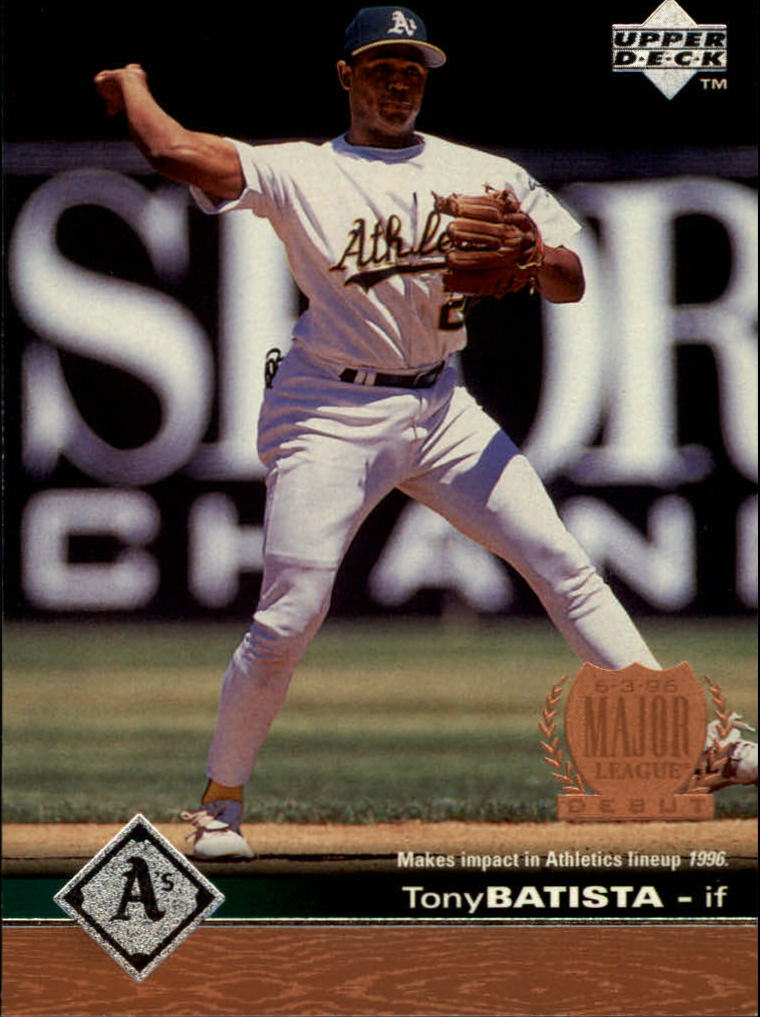 1997 Upper Deck #447 Tony Batista