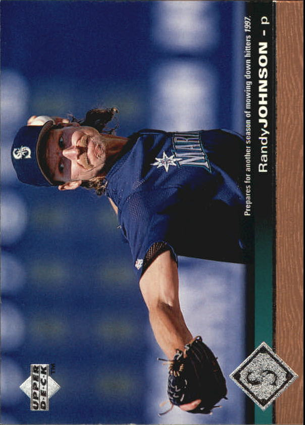 1997 Upper Deck #501 Randy Johnson