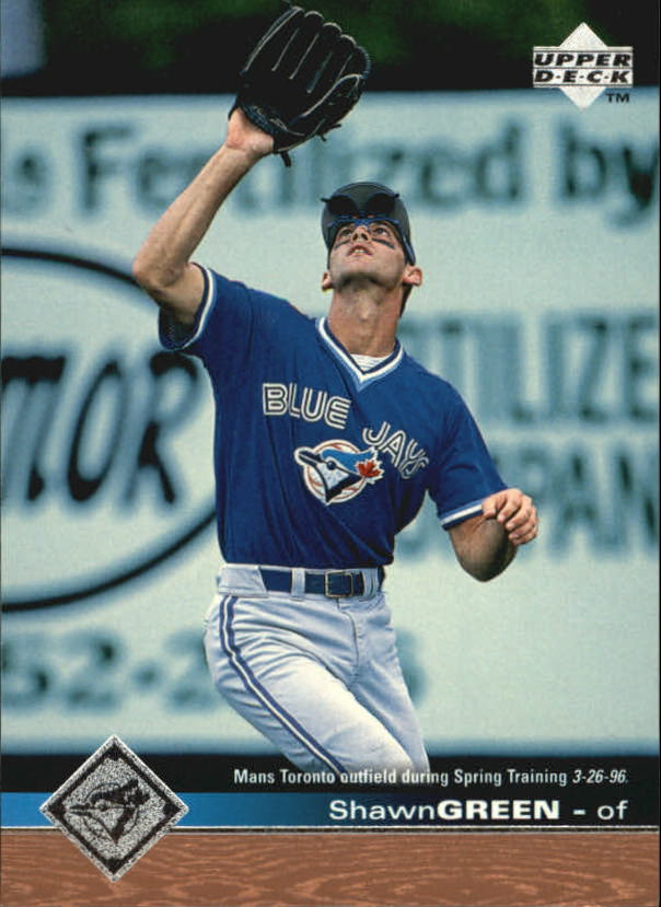 1997 Upper Deck #514 Shawn Green