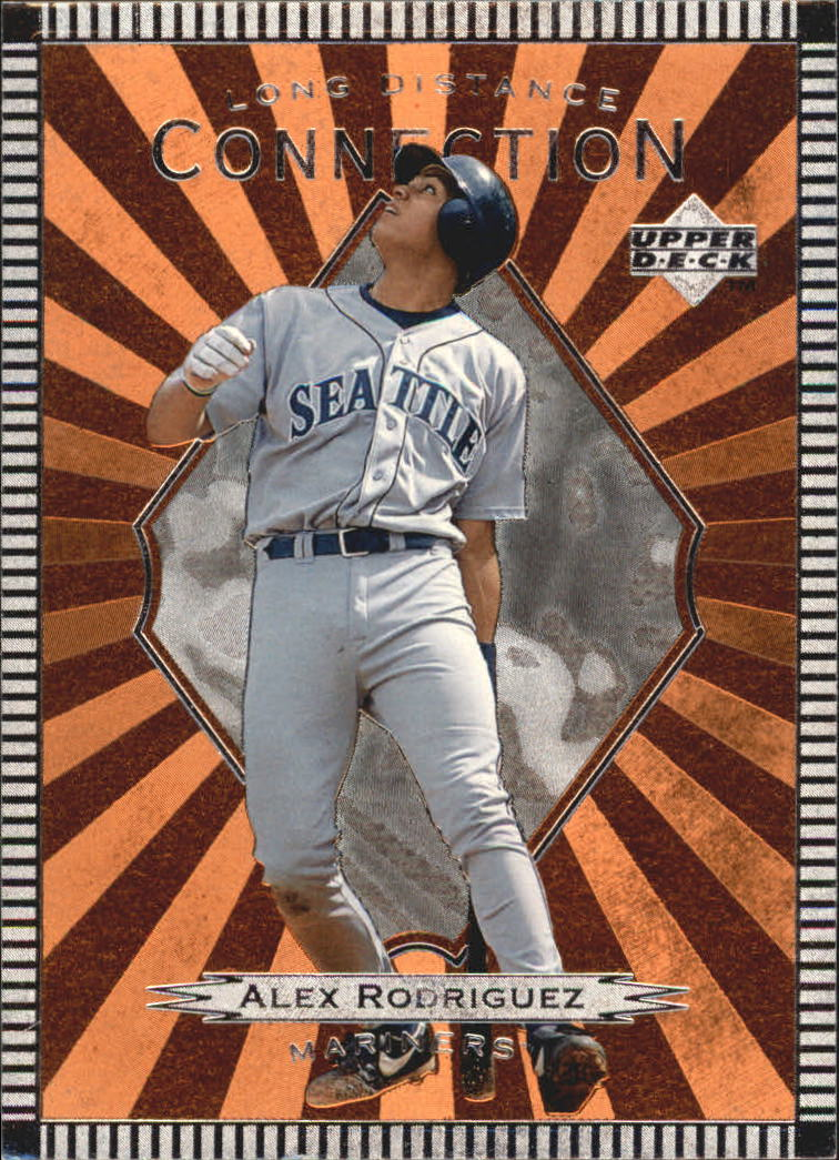 1997 Upper Deck Long Distance Connection #LD15 Alex Rodriguez