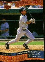 1997 Upper Deck Memorable Moments #B3 Derek Jeter