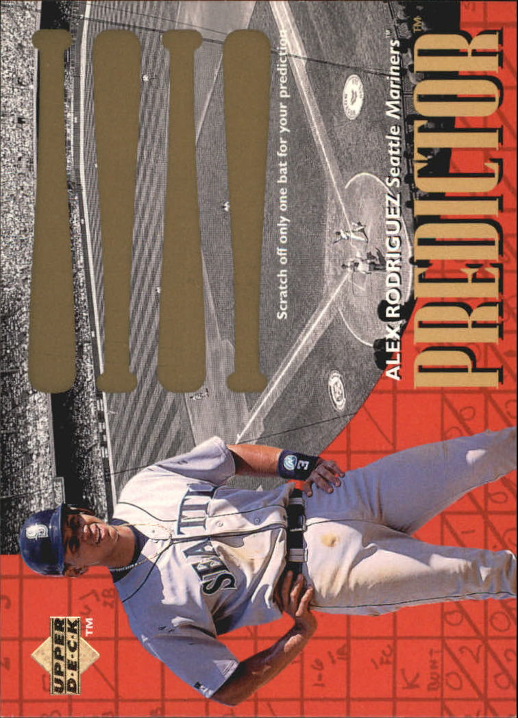 1997 Upper Deck Predictor #27 Alex Rodriguez