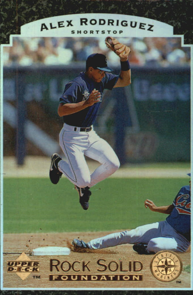1997 Upper Deck Rock Solid Foundation #RS1 Alex Rodriguez