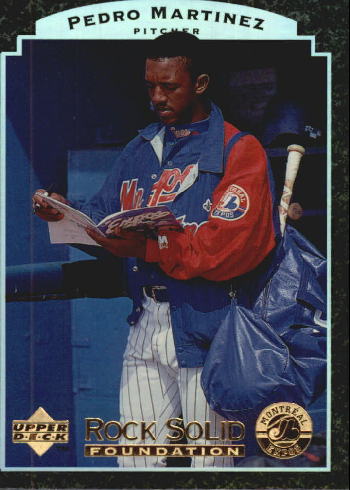 1997 Upper Deck Rock Solid Foundation #RS16 Pedro Martinez