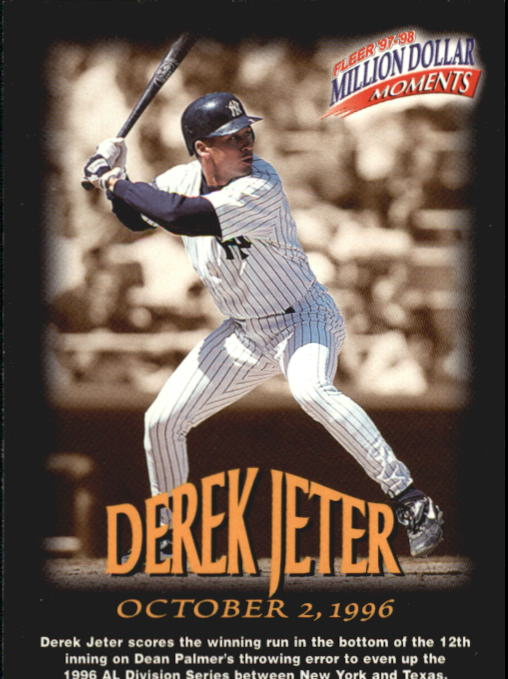 1997-98 Fleer Million Dollar Moments #2 Derek Jeter