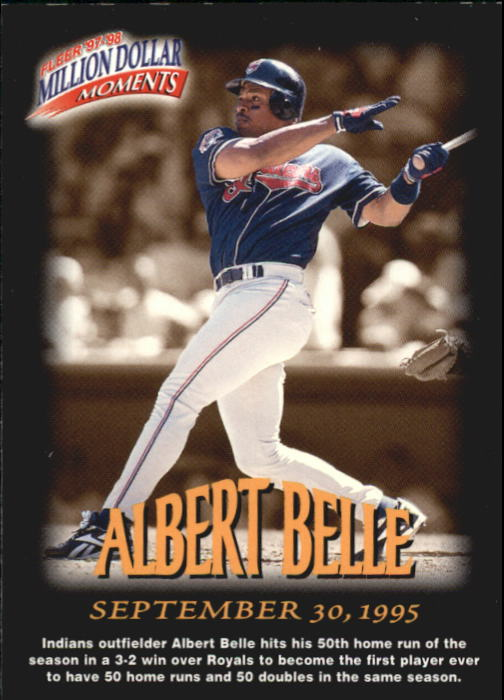 1997-98 Fleer Million Dollar Moments #36 Albert Belle