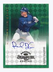 1998 Donruss Signature Autographs Millennium #61 Raul Ibanez