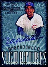 1998 Donruss Signature Significant Signatures #18 Billy Williams/2000